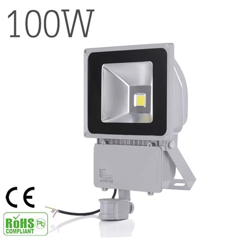 projecteur led exterieur 100w 100w 9000lm led sensor flood light ip65 ac 85 265v proyector refletor led floodlight projecteur