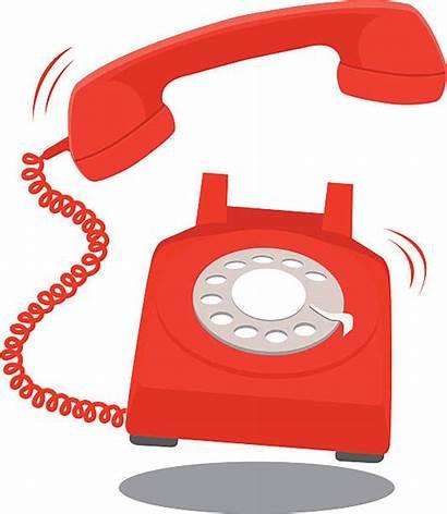 Telephone Receiver Illustrations Clip Ringing