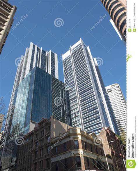 edifici per uffici edifici per uffici ed hotel fotografia stock immagine