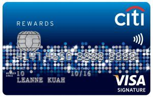 Add authorized users · fraud security · pick your payment date Important changes to Citibank Rewards Credit Card from 4 October 2018 | Cheaponana.com - The ...