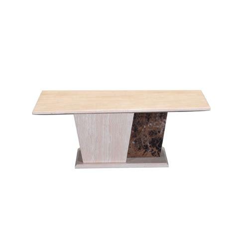 Kati Marble Effect Coffee Table In Cream 21929 Furniture In