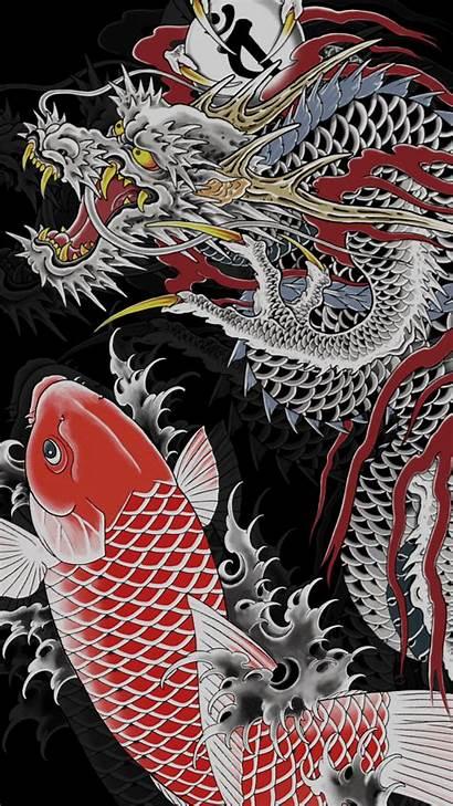 Dragon Japanese Wallpapers Yakuza Kiryu Aesthetic Phone
