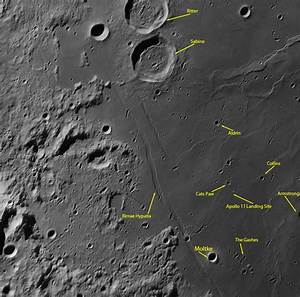 Apollo 11 Landing Site From Earth (page 2) - Pics about space