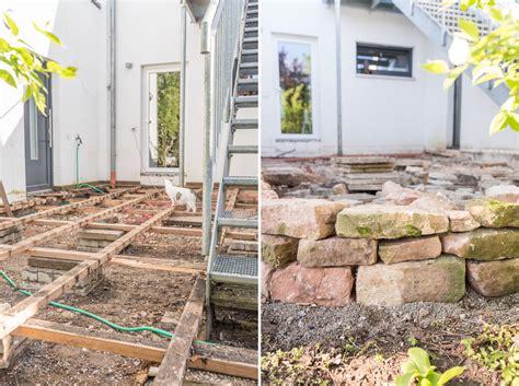 Terrasse Vorher Nachher by Unser Terrassen Makeover Vorher Nachher Teil 1