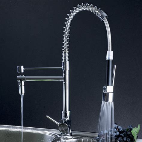professional kitchen faucets professional kitchen faucet with pull out spray 0323f