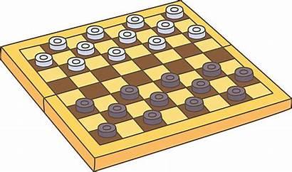 Checkers Vector Playing Clip Draughts Illustrations Vectors