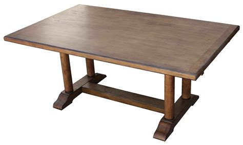 all wood dining table cool reclaimed wood trestle dining table all about house