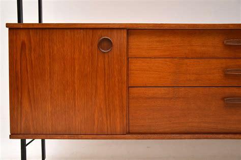 vintage teak sideboard wall unit retrospective