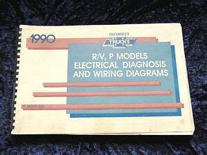 1990 Gmc Chevrolet Truck R  V P Models Electrical Diagnosis