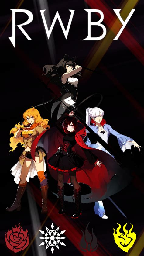 rwby phone team rwby iphone 5 background by areyoucrazee on deviantart rwby phone wallpaper by narutokunai4 on deviantart