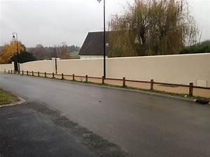 Muret De Cloture : cl ture muret de cl ture et pilliers tdcr construction ~ Melissatoandfro.com Idées de Décoration
