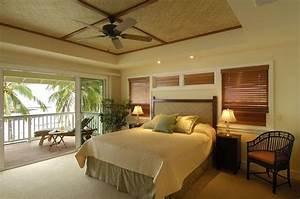 Retro Hawaii Beach Cottage - Tropical - Bedroom - hawaii