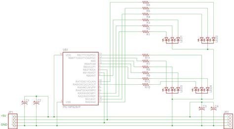 Pic16f628 4 Rgb Led Pwm Controller
