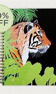 Tiger Notebook | Bird the Artist