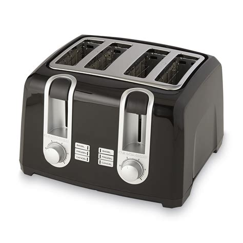 And Black Toaster by Black Decker T4560b 4 Slice Toaster Black