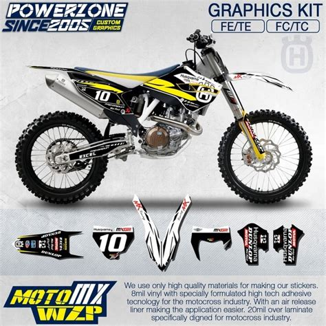 Husqvarna Fc 350 Backgrounds by Customized Team Graphics Backgrounds Decals 3m Custom