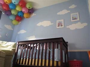 Sky is the Limit with Cloud Wall Stencils for UP Themed
