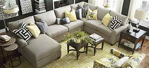 U Shaped Sectional Bassett Furniture In Pineville NC