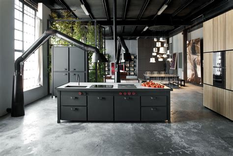 32 industrial style kitchens that will you fall in