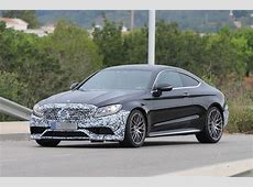 2018 MercedesBenz CClass Coupe facelift spotted Autocar