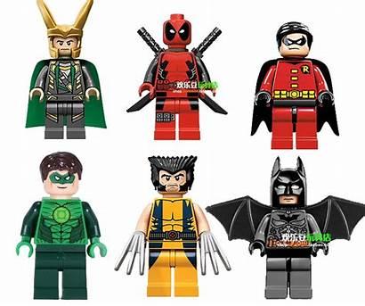 Lego Clipart Batman Lantern Robin Minifigure Deadpool