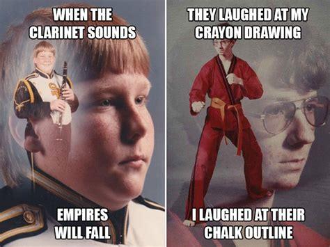 Karate Boy Meme - clarinet boy vs karate kyle who s tougher