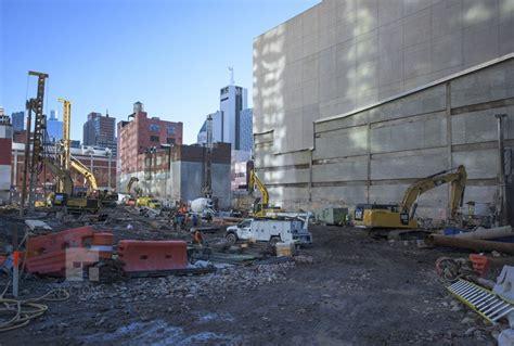 construction update work hums    west