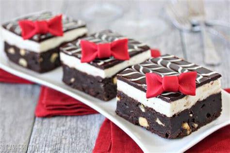 tuxedo brownies sugarhero