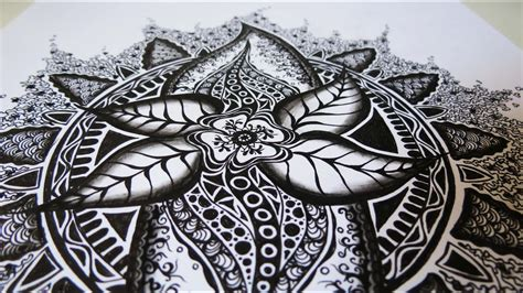zentangle inspired art  youtube