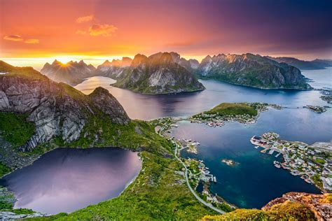 Nature View of Lofoten in Norway Country Wallpaper   HD ...
