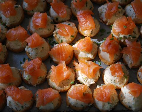 smoked salmon canape ideas great appetizer recipes smoked salmon canapes