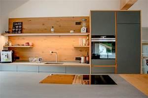Bodenbelag Küche Linoleum : k che linoleum eiche bora ~ Michelbontemps.com Haus und Dekorationen