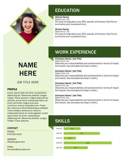 International cv format resume job in new formats professional. 45 Free Modern Resume / CV Templates - Minimalist, Simple ...