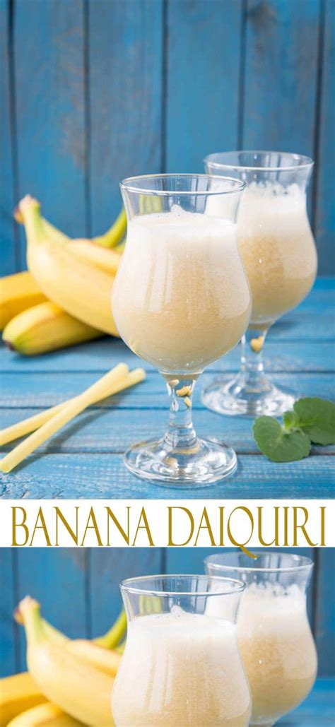 best banana daiquiri recipe
