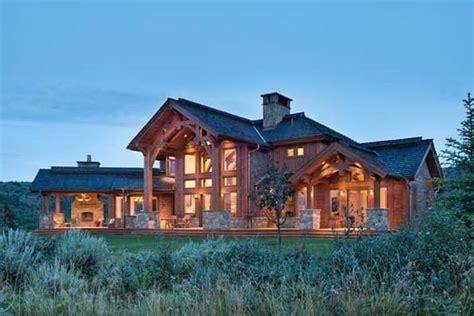 south dakota log  timber frame homes  precisioncraft