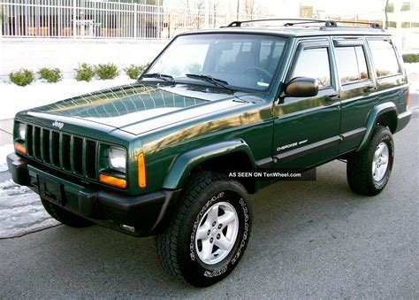 sports jeep cherokee 2001 jeep cherokee 4x4 sport 4 0 lifted quot service records