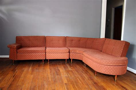 Retro Sectional Sofas 16 Awesome Vintage Sofas From