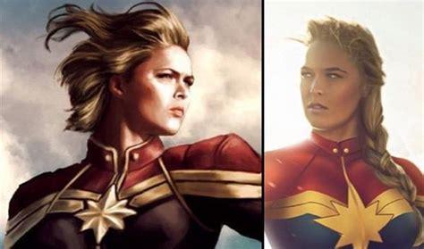 Ronda Rousey Veut Devenir Captain Marvel
