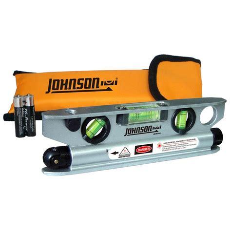 johnson laser level johnson magnetic torpedo laser level 40 6164 the home depot