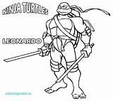 Ninja Coloring Pages Turtle Nickelodeon Turtles Mutant Teenage Leonardo Tmnt Shredder Printable Splinter Master Print Colouring Pdf Cartoon Activity Sheets sketch template
