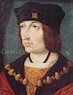 Mort de Charles VIII dont la tête heurte un linteau le ...