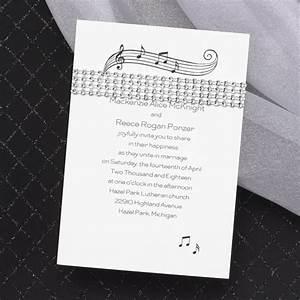 music wedding invitations ideas ann39s bridal bargains With free electronic wedding invitations with music