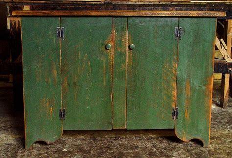 Primitive Cupboard by Handmade Primitive Cupboards By Carolina Farm Table