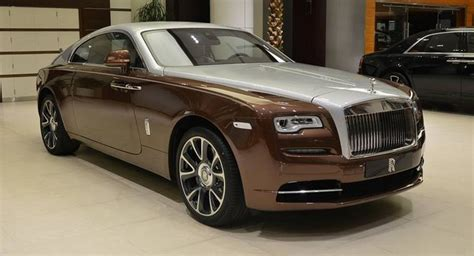 Types Of Rolls Royce by Bronze And Silver Rolls Royce Wraith Is For The