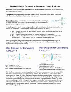 32 Where Do The Three Rays In A Ray Diagram Start