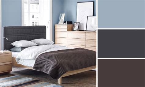 chambre gris et bleu quelles couleurs se marient avec le bleu