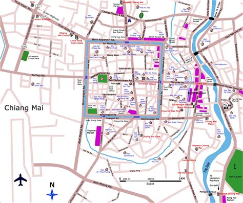 apprentissage en cuisine guide thaïlande carte de chiang mai