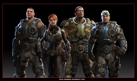 Dsngs Sci Fi Megaverse Gears Of War Judgment Game