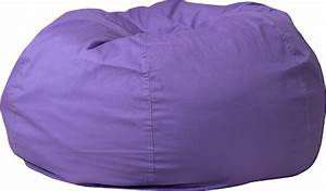 Oversized, Purple, Bean, Bag, Chair