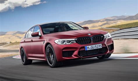 2018 Bmw M5 Debuts With 600hp And Awd  The Torque Report
